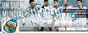 Cuenta oficial Facebook Selección Argentina