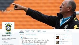 Cuenta oficial Twitter Selección Brasileña