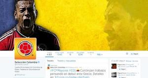 Cuenta oficial Twitter Selección Colombiana