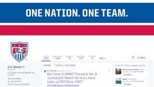 Cuenta oficial Twitter de la Selección Estadounidense