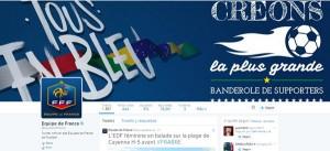 Cuenta oficial Twitter Selección Francesa